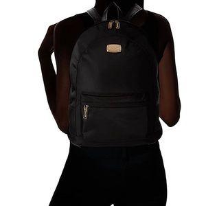 Navy blue Michael Kors Jet set backpack like new